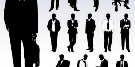 set-van-zakenlieden-vector-silhouetten_279-9666